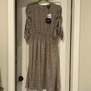 NWT Nordstrom Bobeau Leopard Print Dress XL